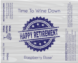 happy retirement Raspberry Rose-01
