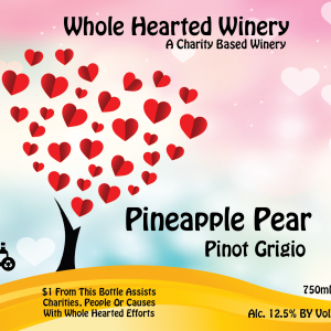 Pineappl pear pinot grigio cropng